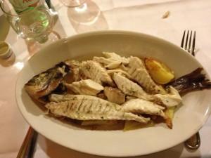 Fresh Fish Trattoria Gianni Franzi, Vernazza, Cinque Terre