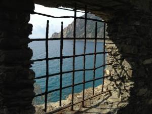 Peek at the Sea in Cinque Terre