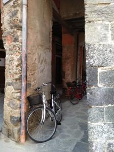 Bikes in Cinque Terre
