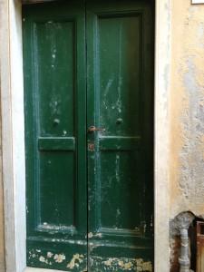 Green Door in Cinque Terre