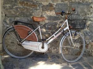 Bike in Cinque Terre