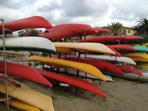 Boats in Sestri Levante