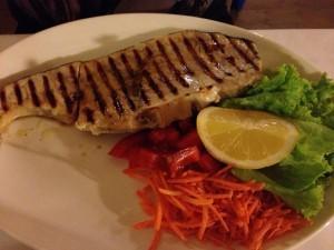 Grilled Swordfish, Da Sandro's, Cinque Terre