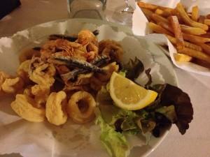 Fried Seafood, Da Sandro's, Vernazza, Cinque Terre