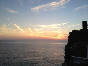 Sunset Vernazza Cinque Terre